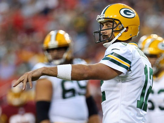 Aug 19, 2017; Landover, MD, USA; Green Bay Packers