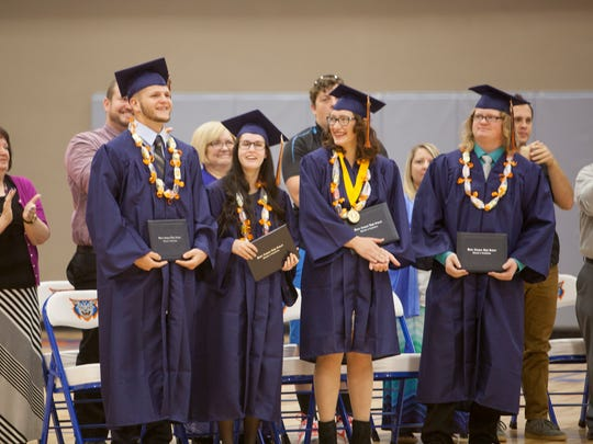 Water Canyon High School celebrates its 2016 graduating class Tuesday, May 24, 2016.