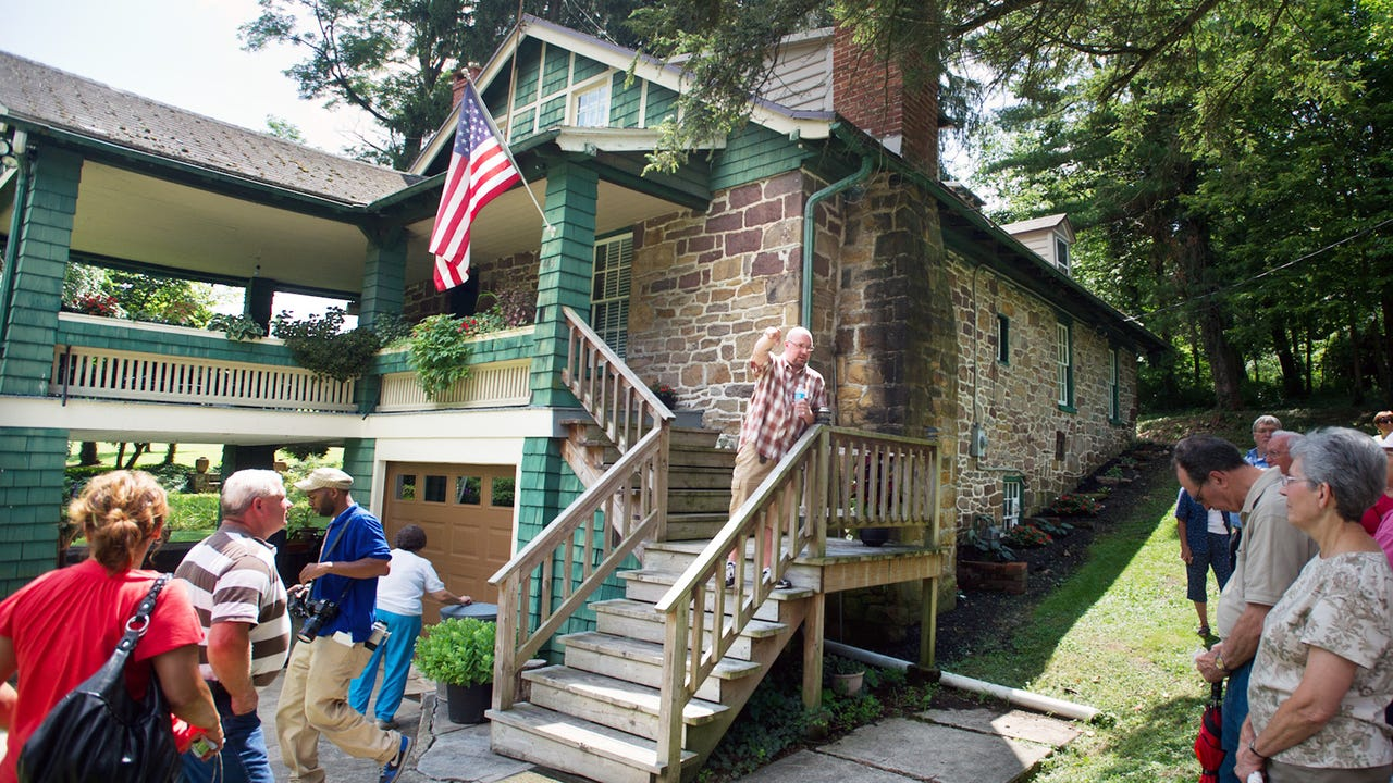 A tour of Historic Shady Lane July 2012