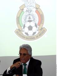 Justino Compeán, presidente de la Federación Mexicana