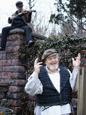 "Claus Evans performed in the Jan DeAngelo & Co. production of ""Fiddler on the Roof."""