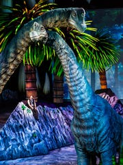 """Walking With Dinosaurs — The Arena Spectacular"" comes to the Central Valley's Selland Arena starting Dec. 3 for eight performances."