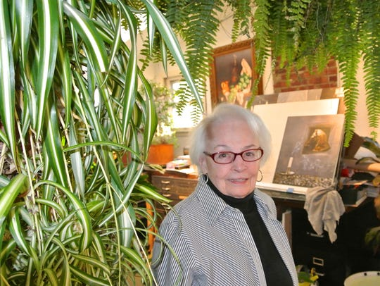 Eva Cellini, an artist who called Leonia home for 54