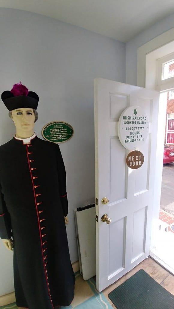 The local Catholic church, St. Peter's, was the hub of the Irish community's spiritual and social life. (SLM photo)
