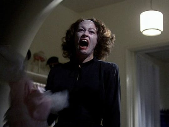 "Faye Dunaway stars in 1981's ""Mommie Dearest."""