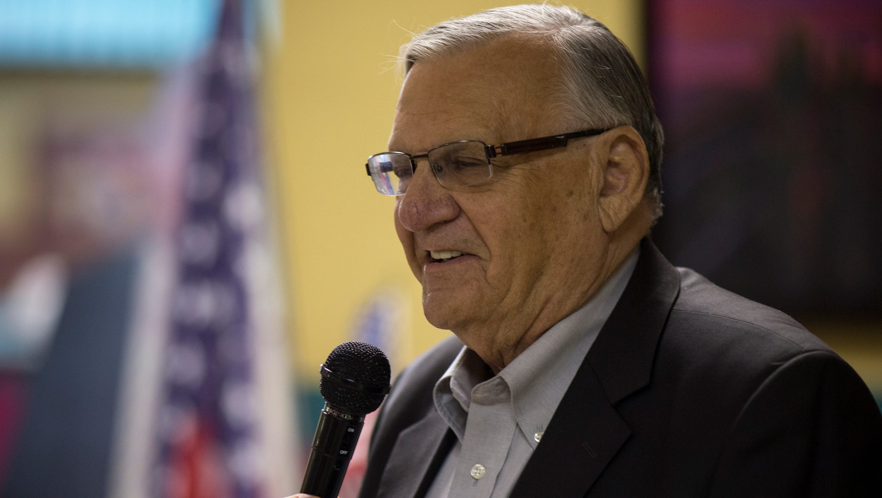 Former Sheriff Joe Arpaio, announcing run for U.S. Senate, says, 'I don't run to lose'