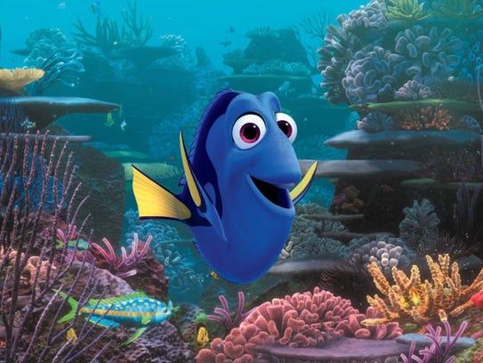 Ellen DeGeneres is forgetful fish Dory in 'Finding