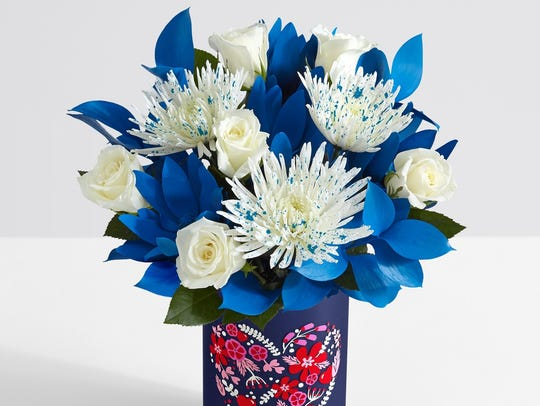 "ProFlowers has a special ""Blue Monday"" bouquet to bring"