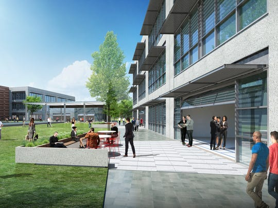 Gartner will begin construction in August on a new campus on airport-owned land to accommodate workforce growth. The IT consulting firm expects to occupy the 143,000-square-foot facility — to be arranged over two interconnected buildings — in September 2018.