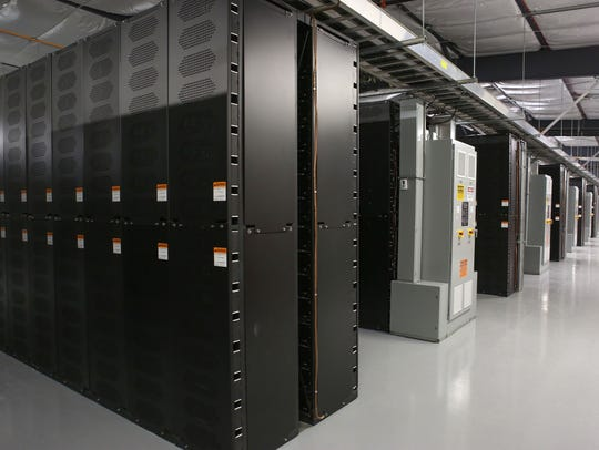 Thirty battery banks, containing nearly 100,000 lithium-ion