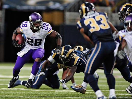 NFL: Minnesota Vikings at St. Louis Rams