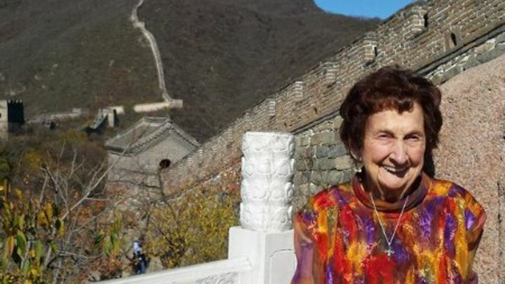 U.S. nurse, now 101, returns to China  — which never left her heart