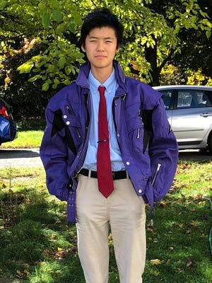 Wachusett Regional High School junio Kenichi Gomi is a student representative to the School Committee.