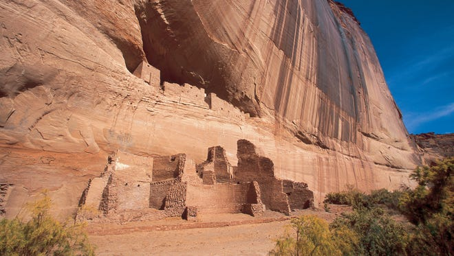 Imagine living perched on the side of a cliff, as the Navajos did at Canyon de Chelly for thousands of years. A Navajo guide is required to visit all but the White House Ruins (pictured).