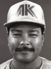 Henry BlasSport: BaseballPhoto archive date April 16, 1987.