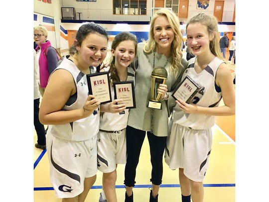 Tia Carter, Brooke Stewart, Callie Cox, and Most Valuable