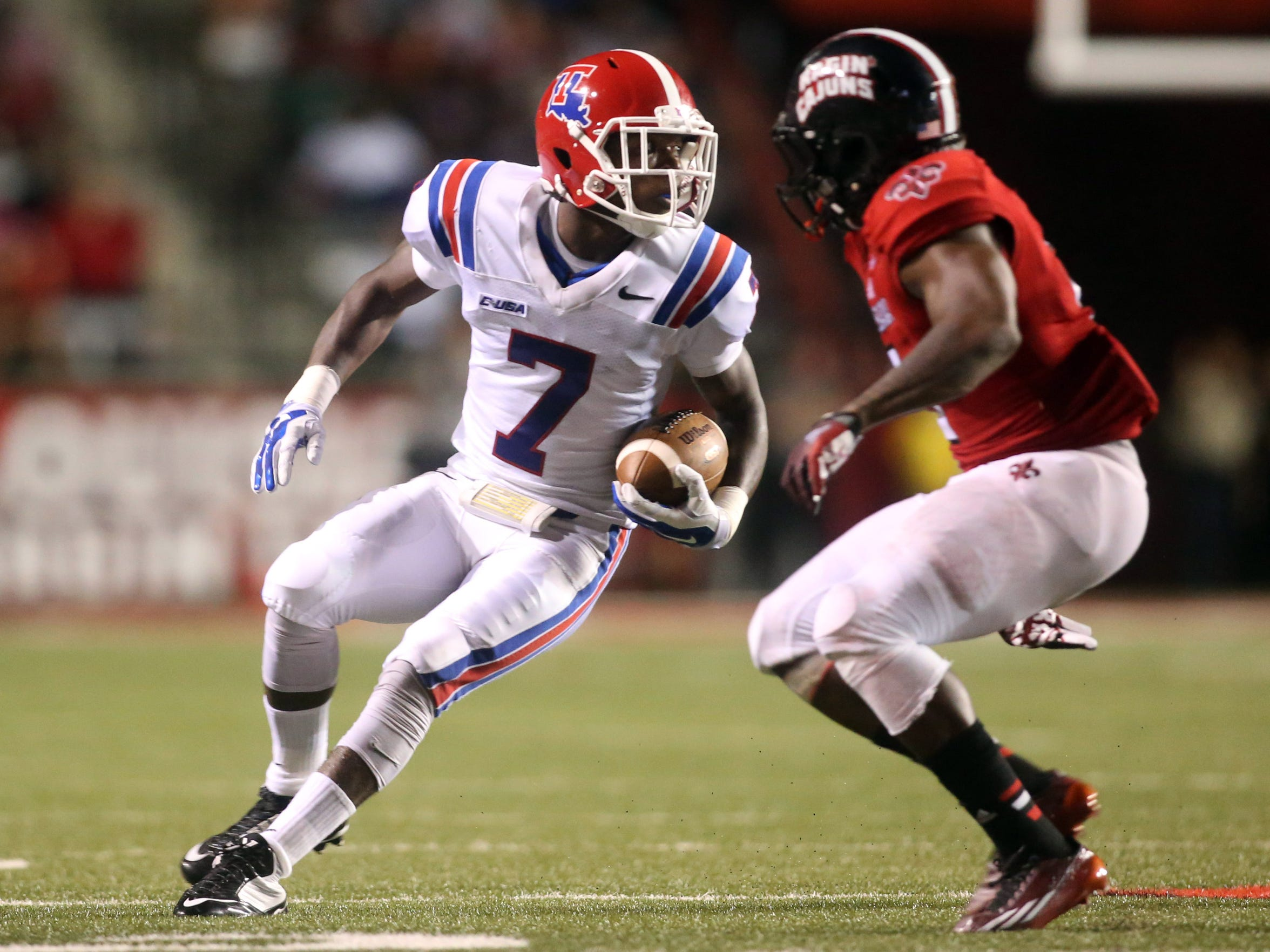 Louisiana Tech defensive back Xavier Woods (7)