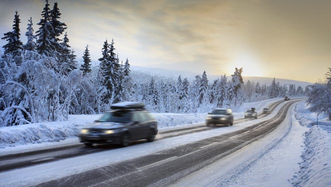 Getty Images/iStockphoto Make sure your vehicle is ready for wintry road conditions. Motion Blur of Car