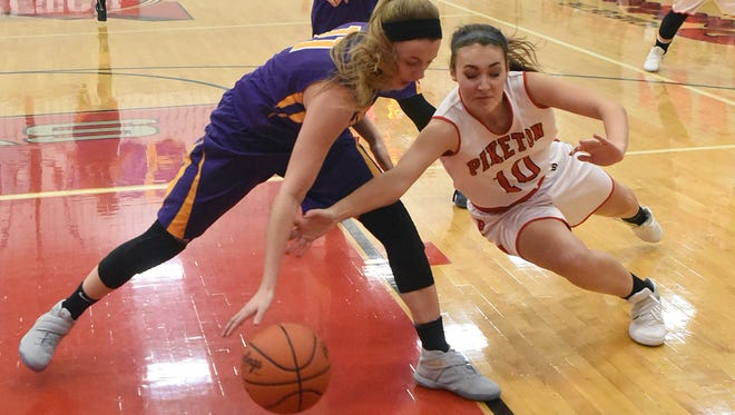 Piketon's Ally Crothers scored 14 points in a win over Western on Saturday, earning athlete of the week honors.