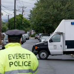 Police: Boston terror suspect came at cops with knife