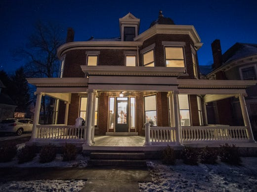 Open house held for historic Richmond home