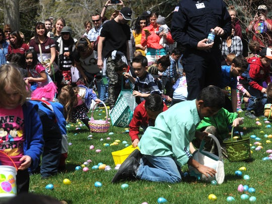 Hundreds of families take part in the Community Easter