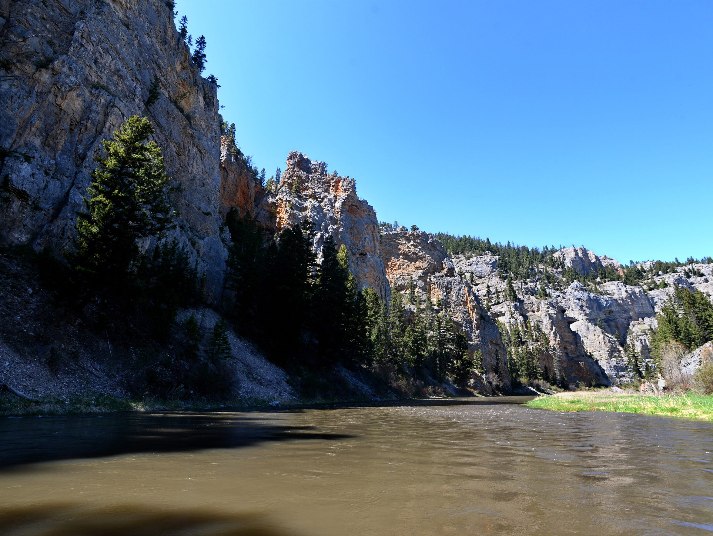 A 59-mile float down the Smith River begins at Camp