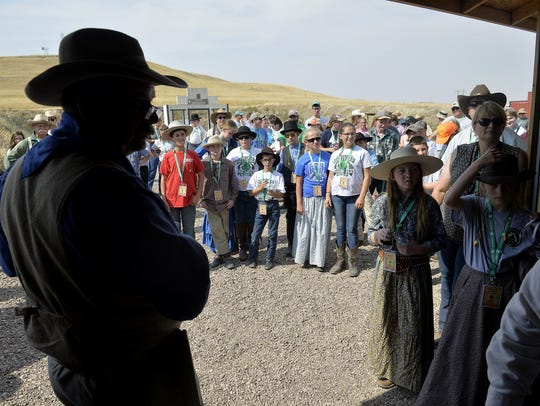 Young shooters get their shooting range orientation