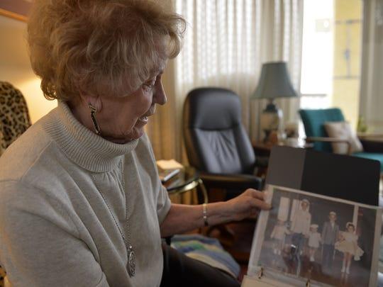 Lorraine Peressini shares memories of her husband,