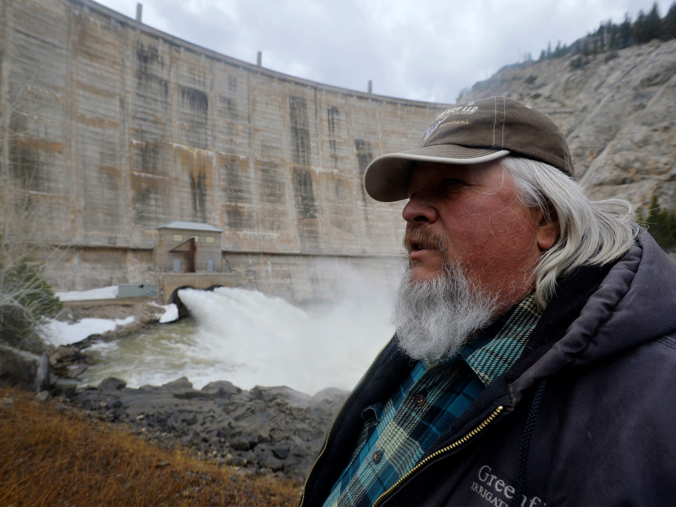 Paul Bergstrom is the year-round dam operator at Gibson Dam in the Sun River Canyon west of Augusta.