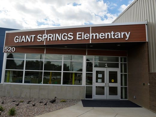 Check Out Great Falls New Giant Springs Elementary School