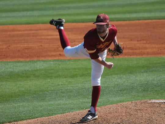 JCJC pitcher Calder Mikell was officially announced as a Southern Miss signee Monday.