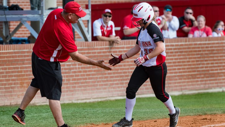 Cajuns enjoy power display in sweep