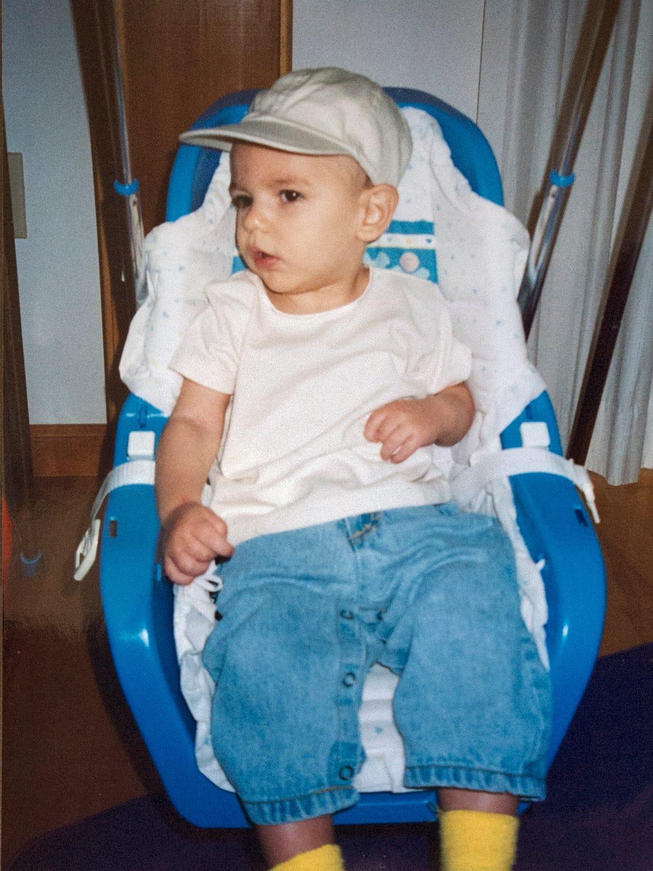 Carson McCord at age 2.