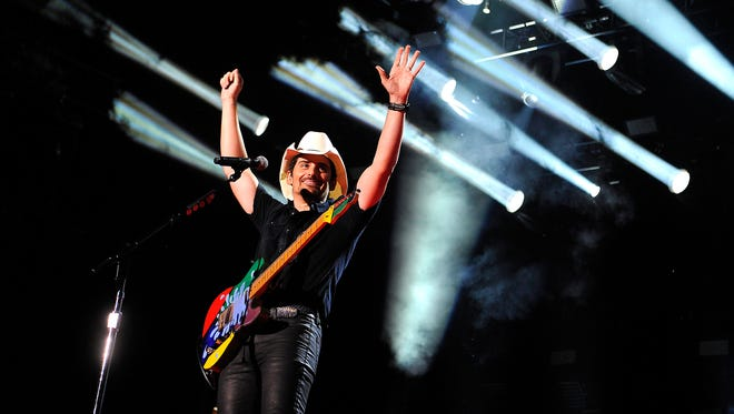 """Brad Paisley is among the musicians featured on """"American Saturday Night Live from the Grand Ole Opry."""""""