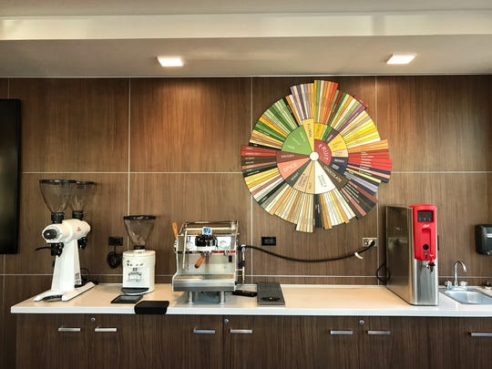 Press Coffee is located at Muse Apartments, right on the northern edge of downtown Phoenix.