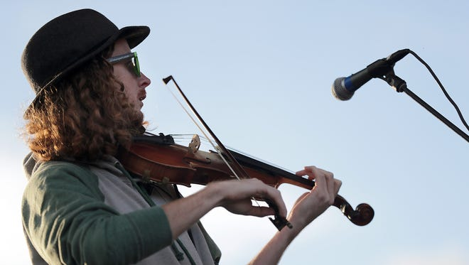 Fox Valley band Feed the Dog is one of five bands playing the first Grass Roots Festival Sunday in Green Bay.