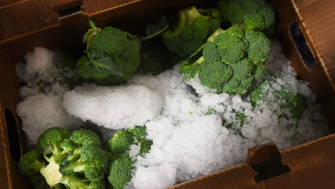 Broccoli from Santa Maria Produce has also been effected by the weather.