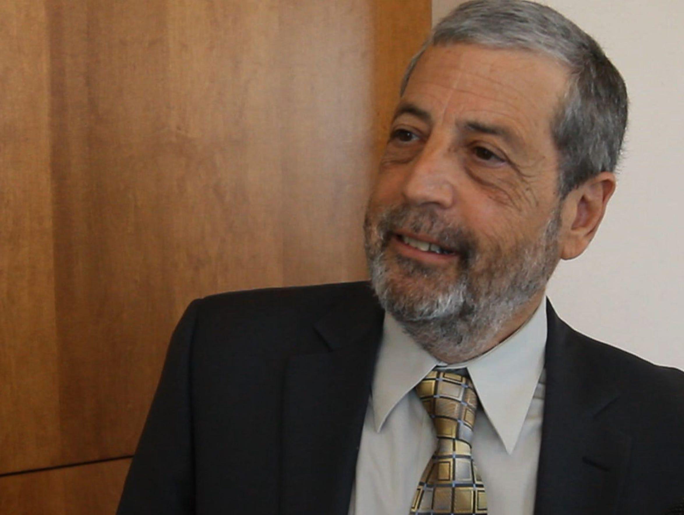 Barbara Lieberman's husband, David.