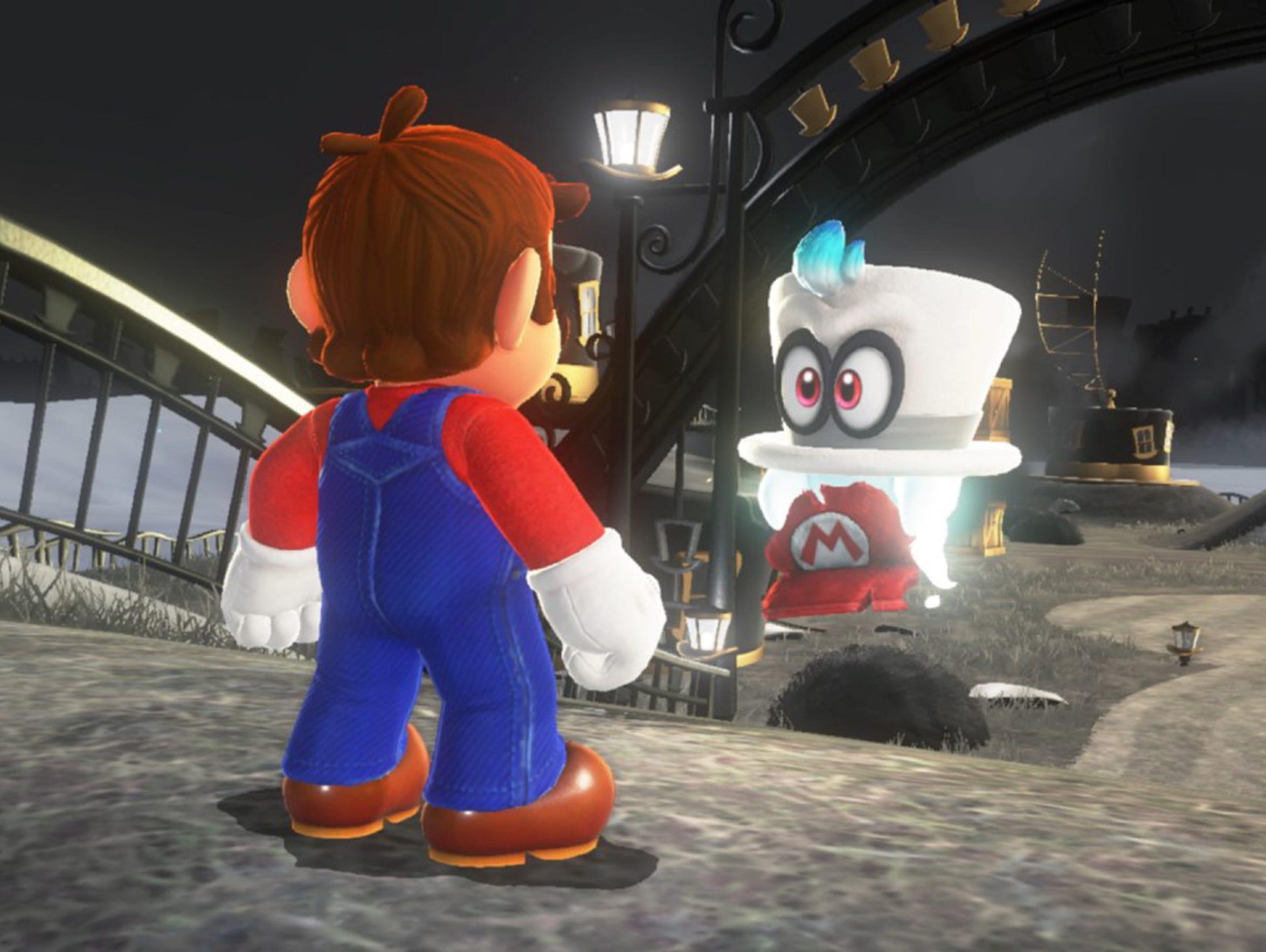 Super Mario Odyssey, Nintendo Switch.