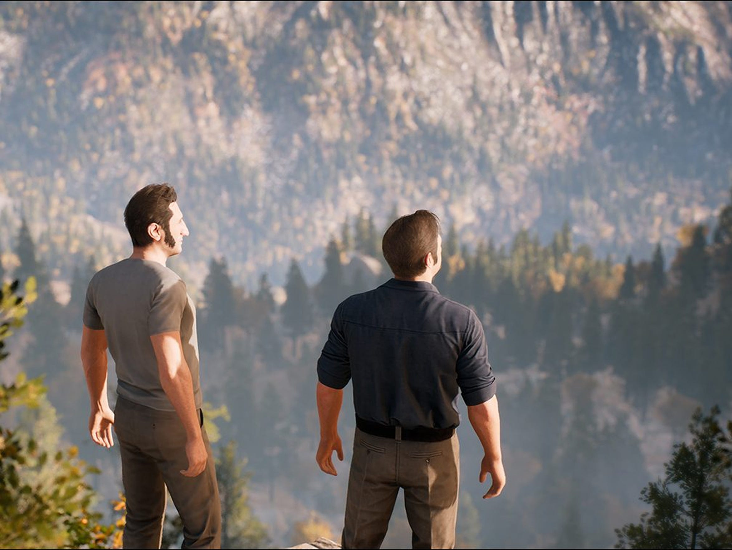 """A Way Out"" for PC, PS4 and Xbox One."