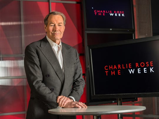 PBS, which airs but does not produce Charlie Rose's shows, has halted distribution. Bloomberg, which also airs 'Charlie Rose' and provides studio space, is also suspending distribution.