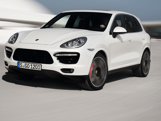 The Porsche Cayenne Turb S was included in the fuel economy settlement.