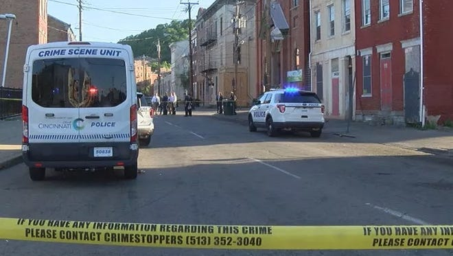Police responded to multiple reports of 12-15 gunshots near East Liberty and Walnut streets in Over-the-Rhine.