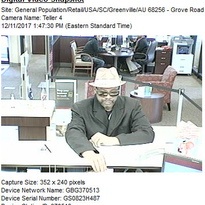 Greenville County deputies searching for Wells Fargo Bank robber