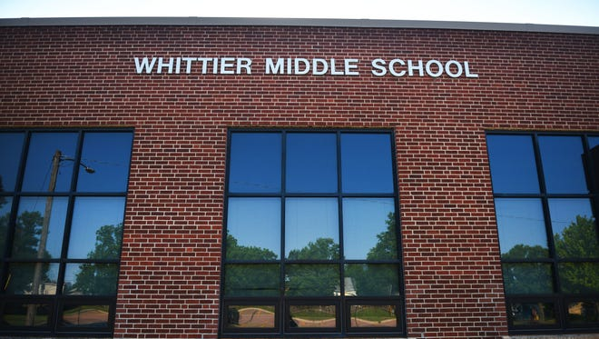 Whittier Middle School neighborhood Tuesday, July 10, in Sioux Falls.