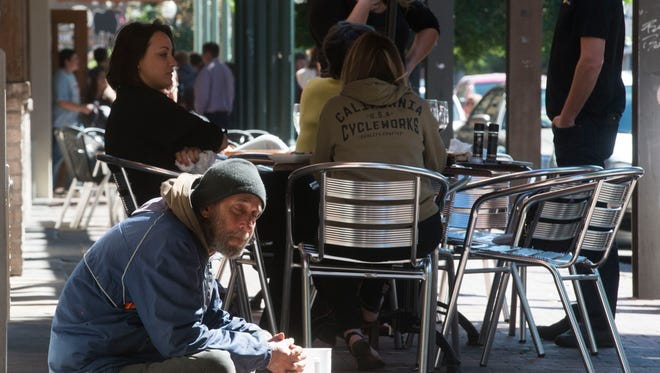The city of Pensacola is once again considering a new ordinance to prohibit panhandling downtown.