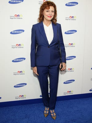 NOT-SO-HOT: Actress Susan Sarandon attends the Samsung Hope For Children Gala 2014 on June 10, 2014, in New York City.