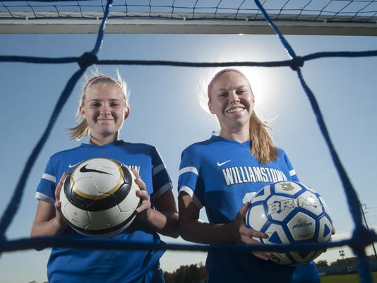 Williamstown girls soccer feature