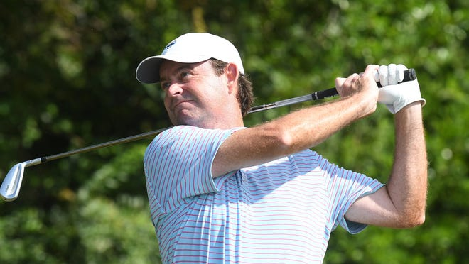 John Blackwell, shown here during the 2019 Wilmington City Amateur, will be taking part in a third Carolinas Amateur championship at Cape Fear Country Club.